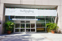 The entrance of Ringling Museum Sarasota Stock Image
