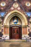 Entrance Roman Catholic Church (Cathedral) Royalty Free Stock Photos