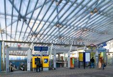 Entrance Rotterdam subway Royalty Free Stock Photos