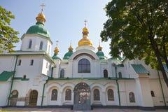 Entrance in Saint Sophia Cathedral in Kiev Stock Photography