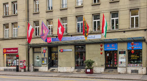 Entrance of the Salvation Army Switzerland Headquarter Stock Photography