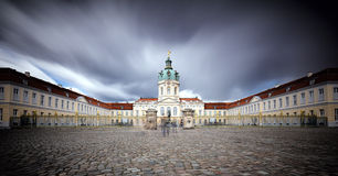 Entrance of the Schloss Charlottenburg Royalty Free Stock Image