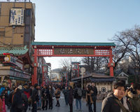 Entrance of Sensoji Temple Royalty Free Stock Photography