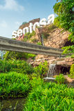 Entrance of Sentosa Stock Photo