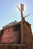 An Entrance Sign at Bearizona, Williams, Arizona Stock Photo