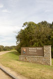 Entrance sign of Natchez Trace Parkway Royalty Free Stock Photography