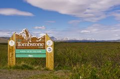 Free Entrance Sign To Tombstone Park Royalty Free Stock Images - 148288389