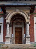 Entrance in Sinaia Monastery Stock Photo