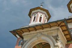 Entrance sinaia monastery Stock Images