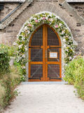 Entrance of St. Enodoc Church Royalty Free Stock Images
