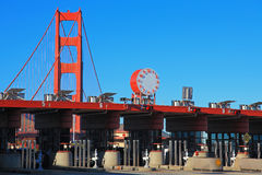 The Entrance Station of Golden Gate Bridge Stock Image