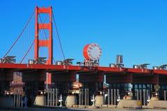 The Entrance Station of Golden Gate Bridge Stock Image