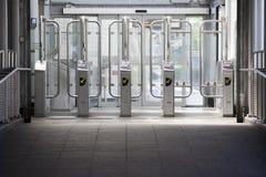 Entrance Subway Station Royalty Free Stock Photo