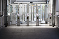Entrance subway station Royalty Free Stock Photo