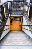 Entrance of a subway station in London, UK Stock Images