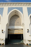 Entrance at Sultan Ahmad 1 Mosque in Kuantan Royalty Free Stock Image