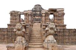Entrance of the Sun temple, Konark Stock Photo