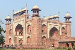 Entrance into the Taj Mahal Royalty Free Stock Photo