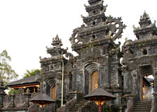 Entrance in temple. Indonesia,Bali Stock Photo