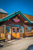 Entrance of Texas Roadhouse restaurant. Lancaster, PA - January 15, 2017: Exterior of Texas Roadhouse restaurant location. Texas Roadhouse is a chain restaurant royalty free stock photo