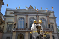 Entrance in Theatre and Museum Dali in Figueres Royalty Free Stock Photography