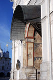 Entrance ti Archangels church. Moscow Kremlin. UNESCO Heritage Site. Stock Photo