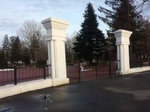 Entrance Tineretului park Royalty Free Stock Photo