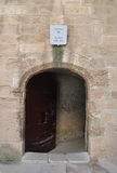 Entrance to Abbe Faria camera  IF castle Royalty Free Stock Images