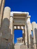 Entrance To Acropolis At Athens, Greece Stock Photography