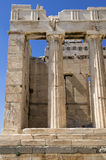 The entrance to the Acropolis, Athens, Greece Royalty Free Stock Photography