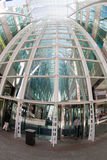 Entrance to the Allan Lambert Galleria in Toronto Stock Images