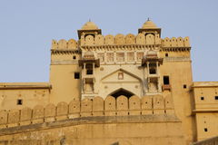 Entrance To Amber Fort Stock Photography