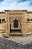 Entrance to ancient mosque Royalty Free Stock Photo