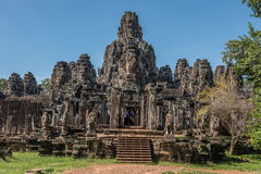 Entrance to Angkor Thorm Royalty Free Stock Photos
