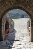 Entrance to the Arena  Pompeii Royalty Free Stock Photo