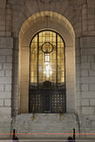 Entrance to Art Deco Building Royalty Free Stock Photography