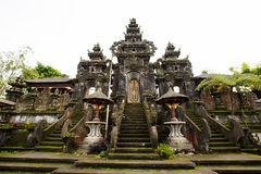 Entrance to Bali hindu temples Royalty Free Stock Photography