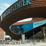 Entrance to Barclays Center Brooklyn NYC Royalty Free Stock Photos