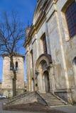 Entrance to Basilian monastery in Vilnius Stock Photos