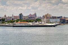 Entrance to the bay of Havana Royalty Free Stock Photo
