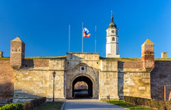 Entrance to the Belgrade Fortress Royalty Free Stock Photos