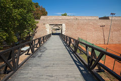 Entrance to Belgrade fortress Royalty Free Stock Image