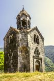 Entrance to bell tower in the monastery of Gregory the Illuminator in Haghpat Royalty Free Stock Photography