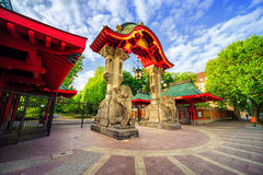 Entrance to the Berlin Zoological Garden, Germany Royalty Free Stock Photography