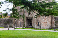 Entrance to the Bishops Palace Stock Image