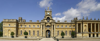 Entrance to Blenheim Palace. Royalty Free Stock Photo