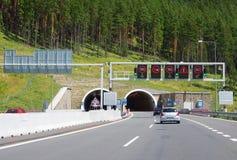 Entrance to Borik tunnel, Slovakia Royalty Free Stock Photos