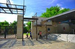 Entrance to Botanical Gardens MRT, Singapore Royalty Free Stock Image