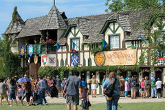 Entrance to Bristol Renaissance Faire Stock Photos