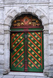 Entrance to the Brotherhood of Blackheads Building Stock Image